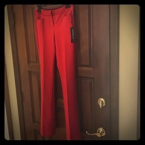 NWT Express barely bootcut red pants
